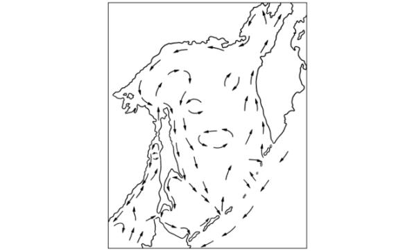 водоворот - Охотское море